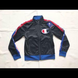 Champion Big C Logo Taping Track Jacket